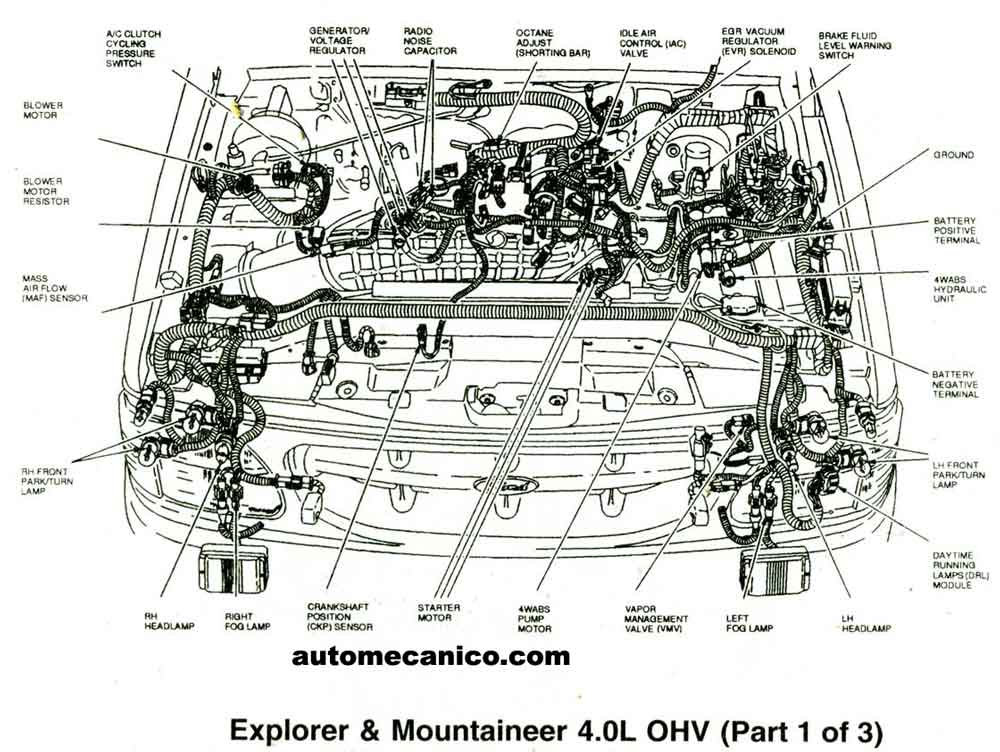 related with engine parts diagram ford 5 4l v8
