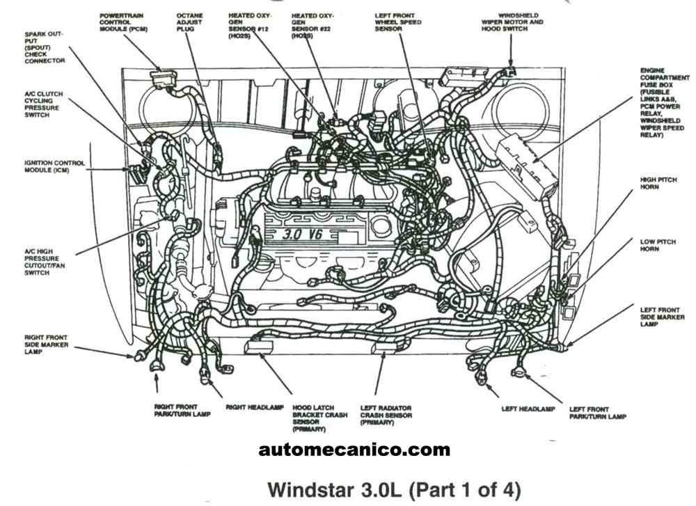 02 Ford Windstar Vacuum Diagram. Ford. Auto Wiring Diagram