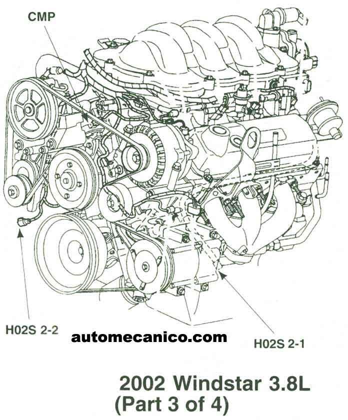 1999 Ford Ranger Engine Diagram 2011 Ford Taurus Engine
