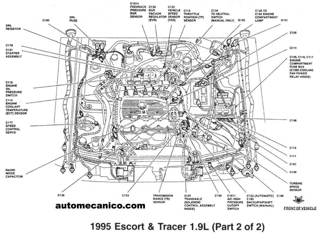 1992 Mercury Topaz Fuse Box. Mercury. Auto Fuse Box Diagram