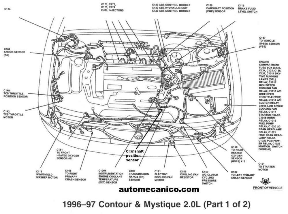 medium resolution of 99 ford contour fuse box diagram get free image 99 free 99 ford contour belt diagram