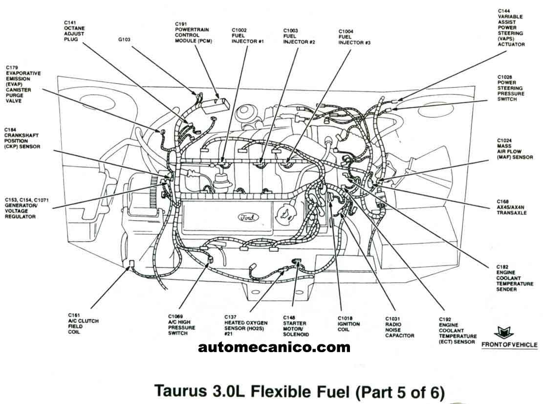 Ford Mercury Sensores 98
