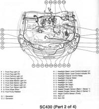 Lexus Sc430 Light Lexus IS 250 Wiring Diagram ~ Odicis