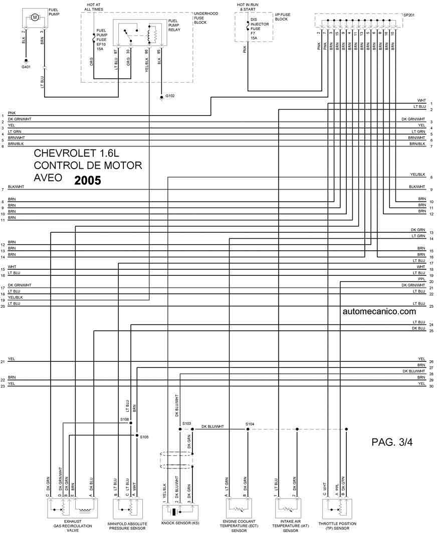 4 3 Chevy Tbi Control Wiring Diagram Chevrolet 2005 Diagramas Esquemas Graphics