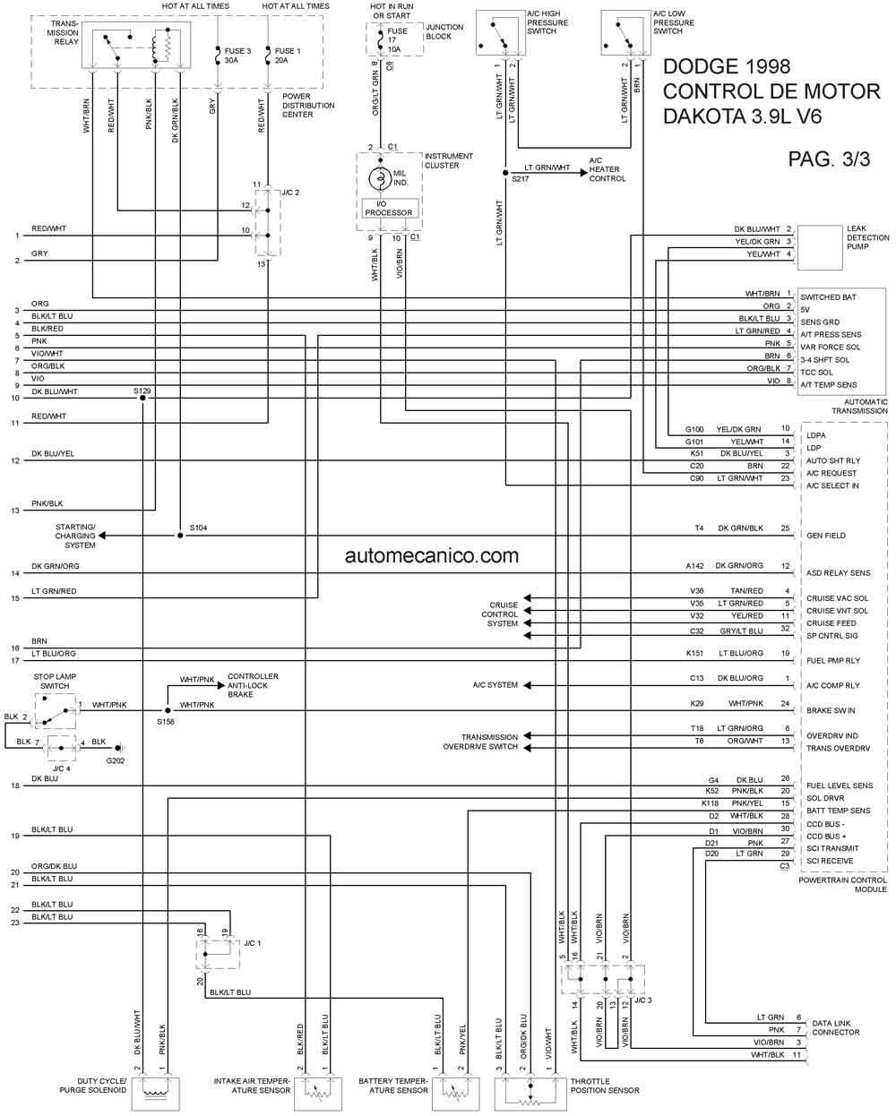 2004 Dodge 1500 Trailer Ke Wiring Diagram. Dodge. Auto