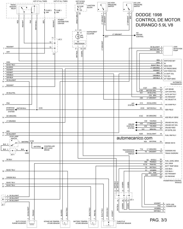 2006 Dakota Fuel Wiring Diagram Dodge 1998 Diagramas Esquemas Graphics Vehiculos