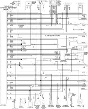 Nissan B13 Fuse Box  Circuit Diagram Maker
