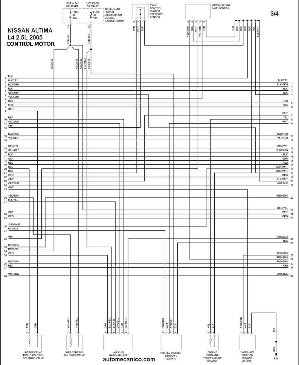 Diagrama Electrico De Nissan Frontier 2005, Diagrama, Free