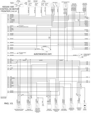 Nissan 1998 | Diagramas  Esquemas  Graphics | vehiculos