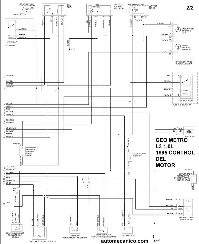 Geo Tracker Engine 1 6l. Diagram. Wiring Diagram Images