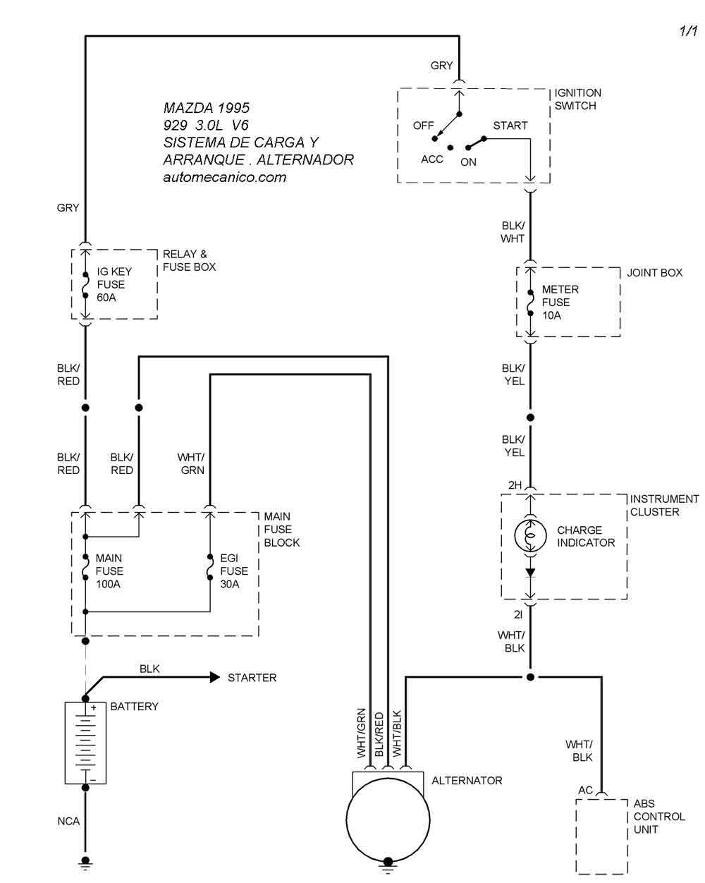 Diagram For 1994 Mazda B2300 Fuse Box, Diagram, Get Free