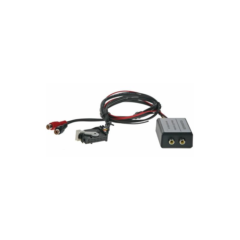 adaptér A / V výstup pre OEM navigáciu VW RNS-510 (MFD3