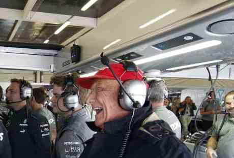 Niki Lauda foi o primeiro a detonar a volta de Briatore (Foto Mercedes Benz Media)