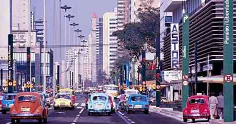 Av Paulista cores