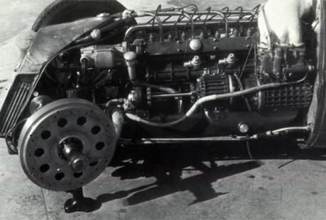 Gioacchino Colombo o projetou, ainda na década de 1930 (formulazerobrasil.wordpress.com)