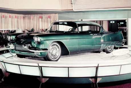 O primeiro protótipo em 1955 (GM Media)