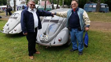 Com o presidente do Brezelfensterverein eV - Bernd Hahn