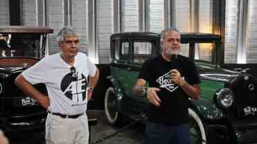 Bob Sharp e Marcos Cardoso - foto: PK