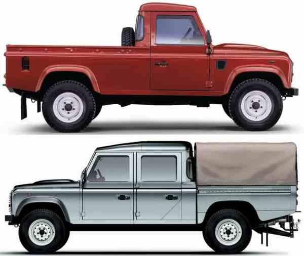Land Rover Defender -vert