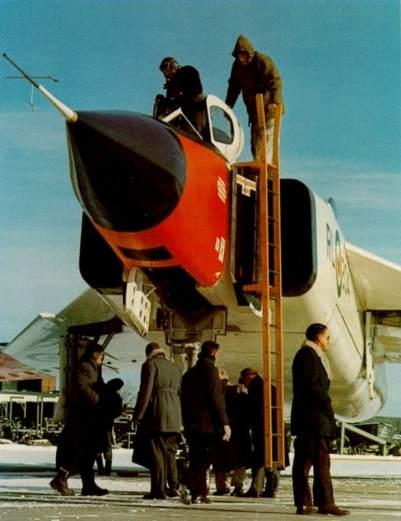 Com frio canadense típico, preparação para mais um teste (avro-arrow.org)