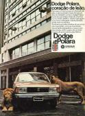 Polara trouxe um face-lift de sucesso. Propaganda com leões verdadeiros demandou operação de guerra no centro de São Paulo (carplace.com.br)