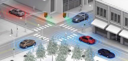 A conectividade levará os veículos a se comunicar...