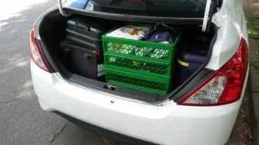Porta-malas de 460 litros é bom, mas...