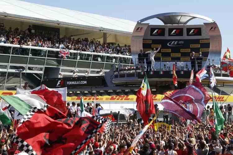 Monza é uma das etapas mais tradicionais e populares do calendário da F-1 (Foto Jed Leicester/Williams)