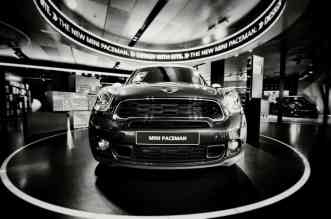 Showroom MINI, Paceman