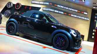 Showroom MINI, meu favorito JCW Cabrio