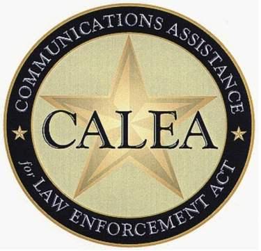 Selo oficial da CALEA