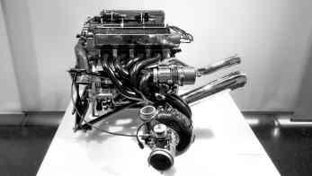 O motor 1,5-litro de 4 cilindros turbo com potência entre 630 e 790 cv usado nos Brabham de 1981 a 1985