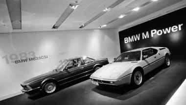 O M1 e o coupé M635CSi (M6)