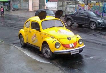 """Mouse Car """"independente"""" de Manaus, AM (foto enviada por Petrônio Brandão)"""