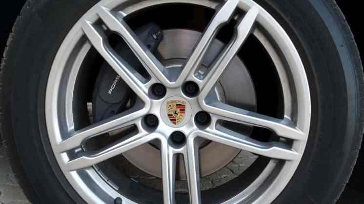 Rodas permitem perfeita ventilação dos freios