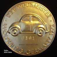 Medalha numerada