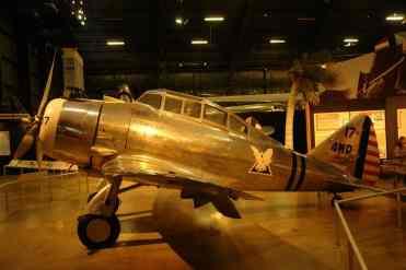 O Seversky P-35 é de pouco antes da Segunda Guerra