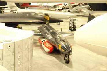 O X-15 poderá ser visto bem de perto