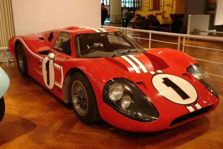 GT40 Mk IV, vencedor em 1967 (autor)