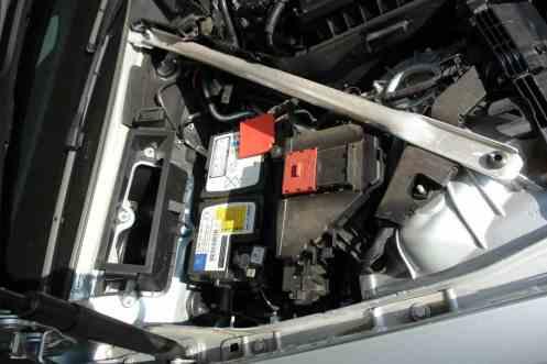 Bateria e entrada de ar da ventiilação, sem a cobertura