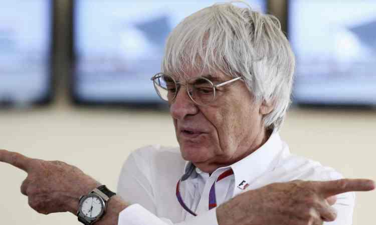 Ecclestone quer vender publicidade nas conversas de rádio entre pilotos e equipes (Foto F-1.com)