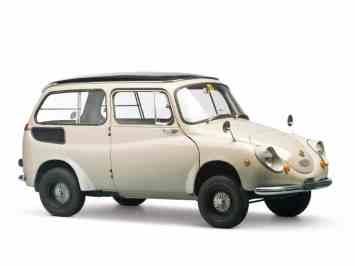 Entre as várias versões desenvolvidas está esta perua (Foto Subaru)