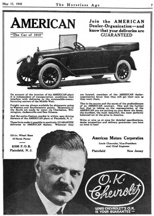 American_Motors_Corporation_advert_in_Horseless_Age_v44_n4_1918-05-15_p7