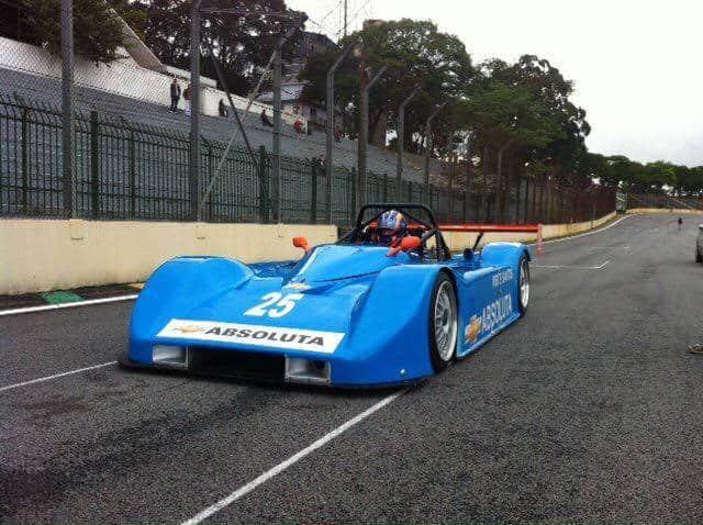 Ney Faustini usa mecânica Maserati para desenvolver o protótipo JA (Foto Equipe Absoluta)