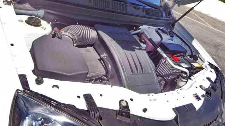 Motor moderno que supre com sobras as necessidades: 184 cv a 6.700 rpm