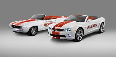 Chevrolet and the Indianapolis Motor Speedway announced that a s