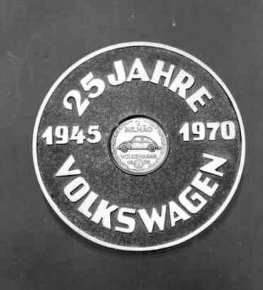 25 Anos Volkswagen 1945-1970