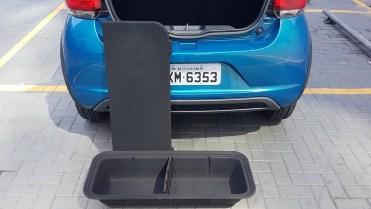 Cargo box removível de série