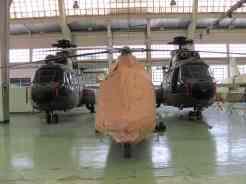 Helicópteros estocados