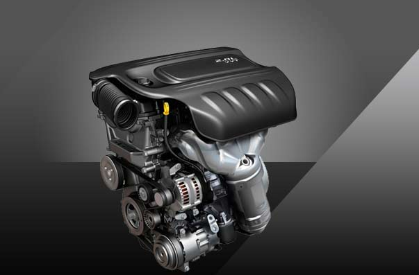 Motor Tigershark 2,0 litros (foto: dodge.com)